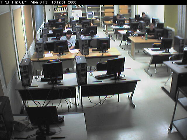 University of Tennessee - OCC Lab Surveillance - HPER 142 Cam 1 photo 5