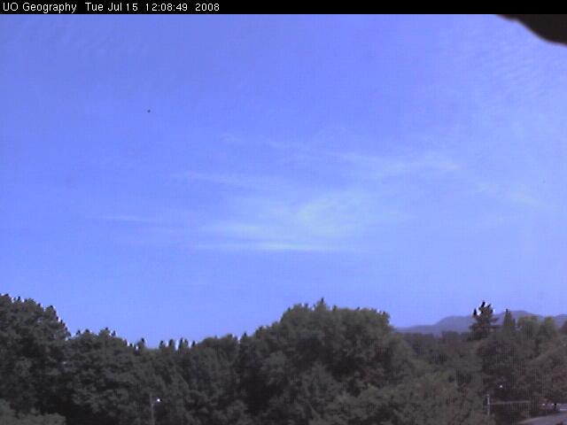 University of Oregon - Weather cam photo 2