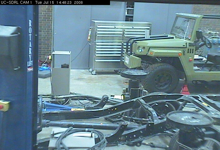 University of Cincinnati - Structural Dynamics Research Lab - Cam 1 photo 2