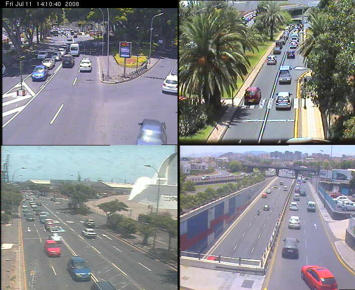 Traffic webcams of Santa Cruz de Tenerife photo 4