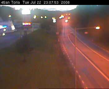 Toria crossroad - Road E45 northbound photo 3