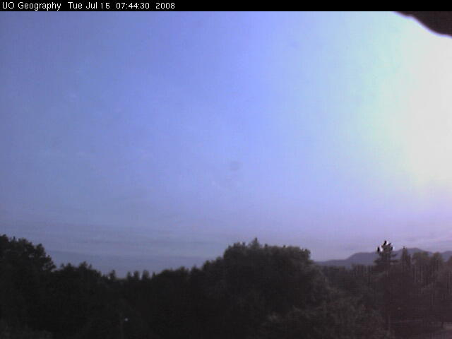 University of Oregon - Weather cam photo 1