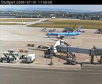 Stuttgart Airport WebCam photo 4
