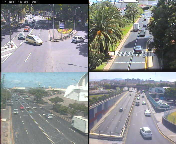 Traffic webcams of Santa Cruz de Tenerife photo 5