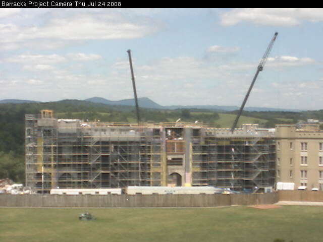 Virginia Military Institute - Barracks Project Webcam photo 4