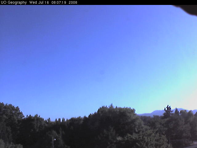 University of Oregon - Weather cam photo 5