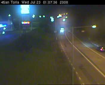Toria crossroad - Road E45 northbound photo 4
