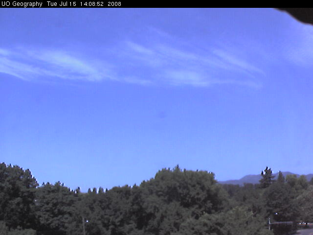 University of Oregon - Weather cam photo 3