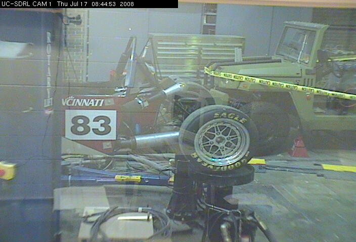 University of Cincinnati - Structural Dynamics Research Lab - Cam 1 photo 4
