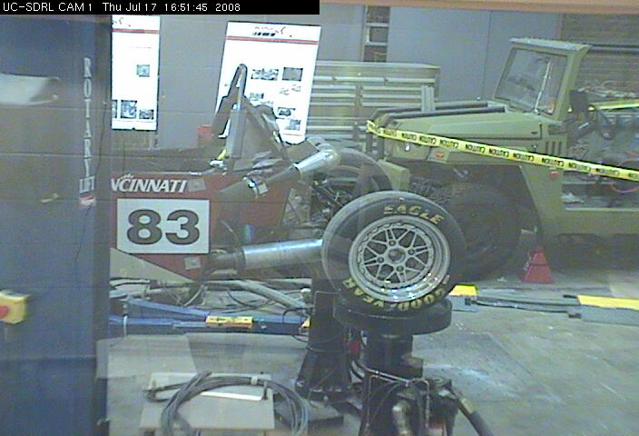 University of Cincinnati - Structural Dynamics Research Lab - Cam 1 photo 5