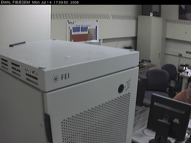 University of Michigan - EMAL ESEM-FIB Webcam photo 5
