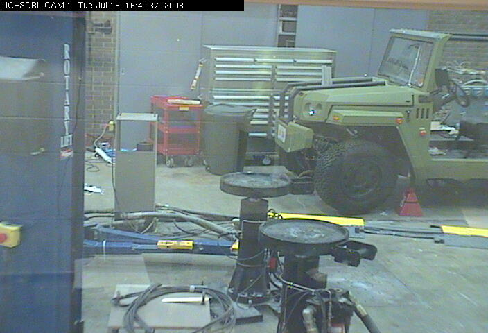 University of Cincinnati - Structural Dynamics Research Lab - Cam 1 photo 3