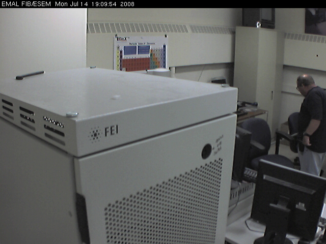 University of Michigan - EMAL ESEM-FIB Webcam photo 6