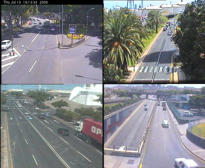 Traffic webcams of Santa Cruz de Tenerife photo 1