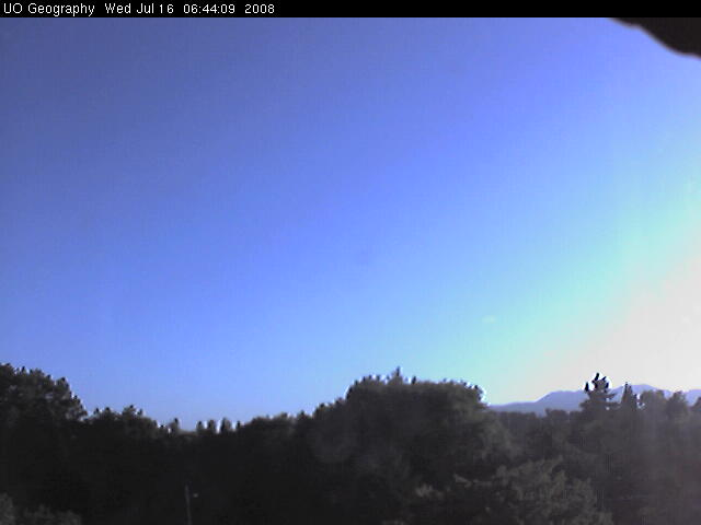 University of Oregon - Weather cam photo 4