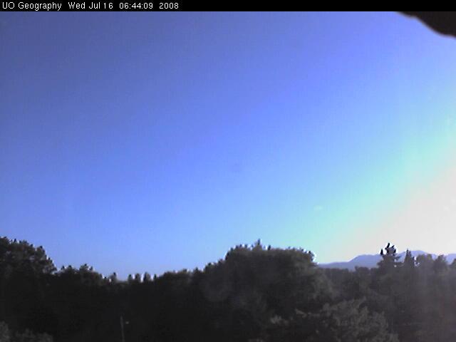 University of Oregon - Weather cam photo 4