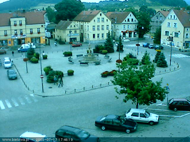 Bielawa square webcam photo 5