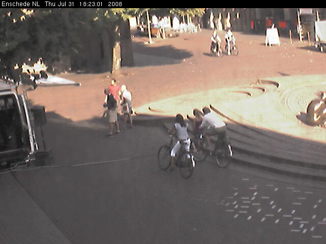 Webcam on the City Hall (Egg Ko) of Enschede photo 6