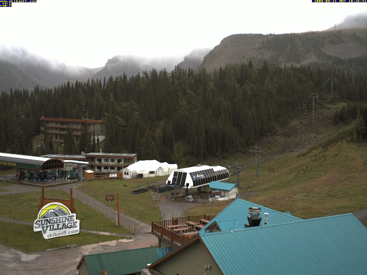 Banf mountain webcam photo 6
