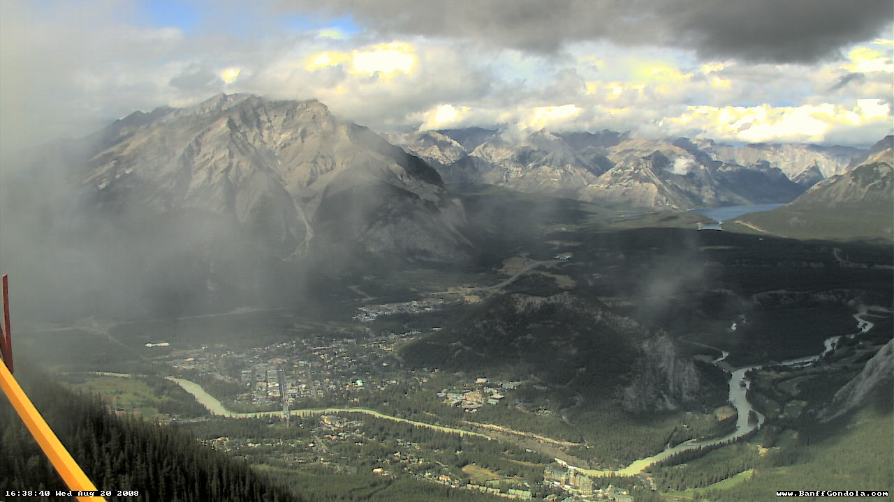 Banff - Sulphur Mountain WebCam photo 5