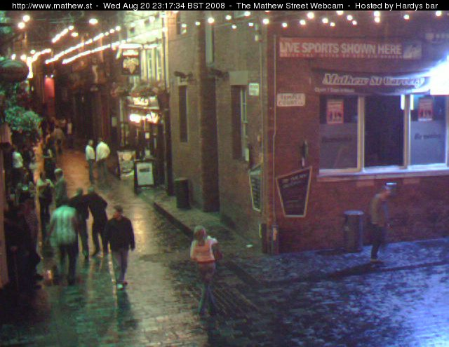 Mathew Street Webcam photo 6