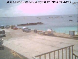 Ascension Island - Pierhead webcam photo 1
