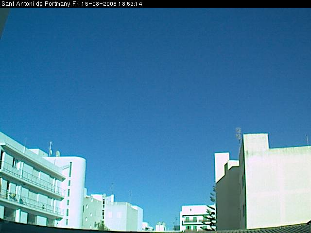 Webcam from Sant Antoni de Portmany  photo 4