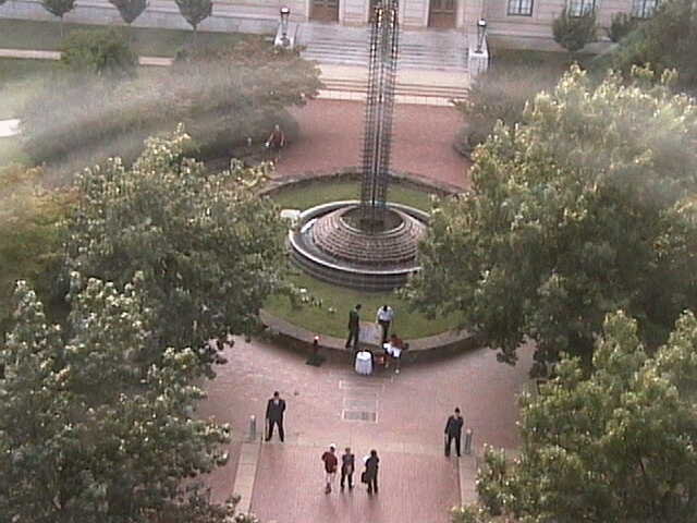 University of Arkansas - Fulbright Peace Fountain photo 1