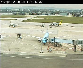 Stuttgart Airport WebCam photo 6