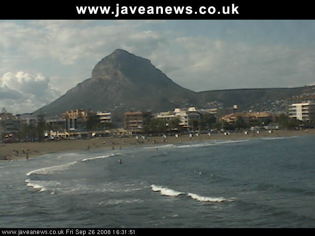 Webcam Javea photo 1