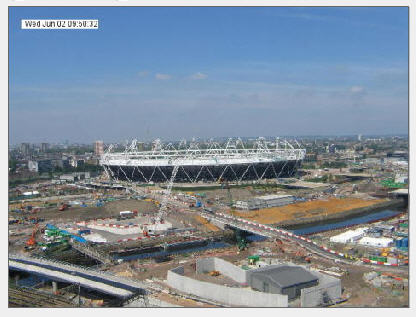 2012 London Olympic Stadium construction  photo 1