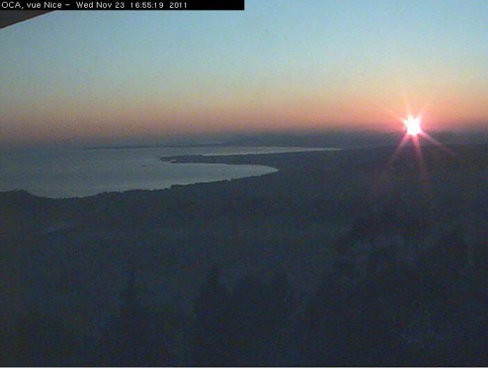 Vue sur Nice depuis l'Observatoire photo 3