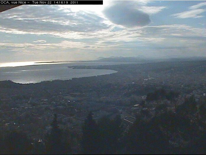 Vue sur Nice depuis l'Observatoire photo 2