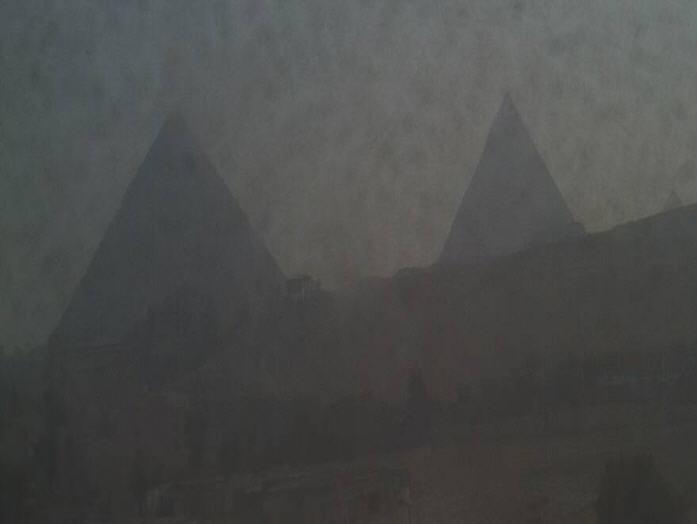 View of the Great Pyramid at Giza photo 1