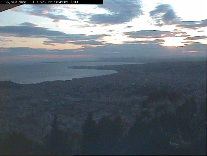 Vue sur Nice depuis l'Observatoire photo 1