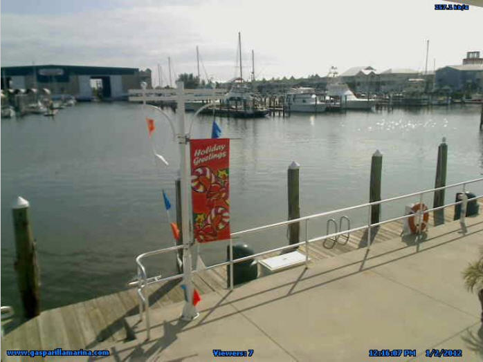 Gasparilla Marina Fuel Dock Live photo 2