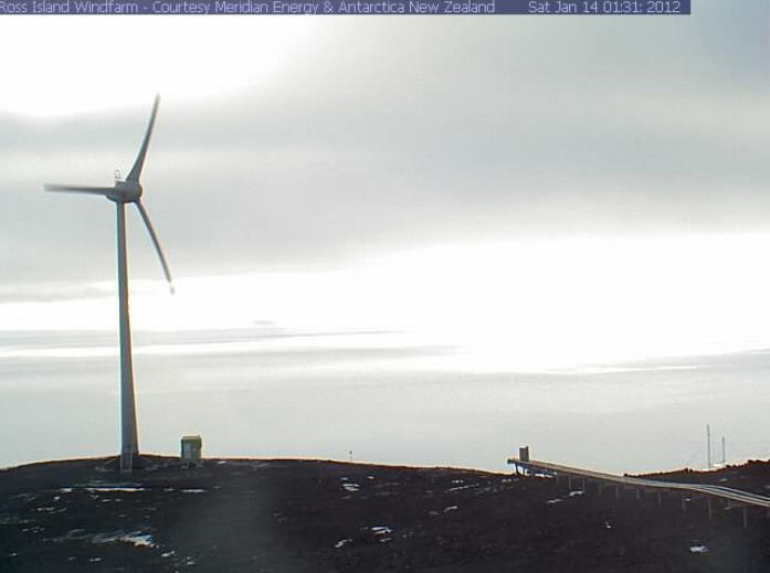 Ross Island wind farm photo 1
