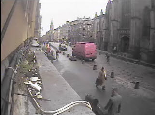 Launderette edinburgh royal mile webcam