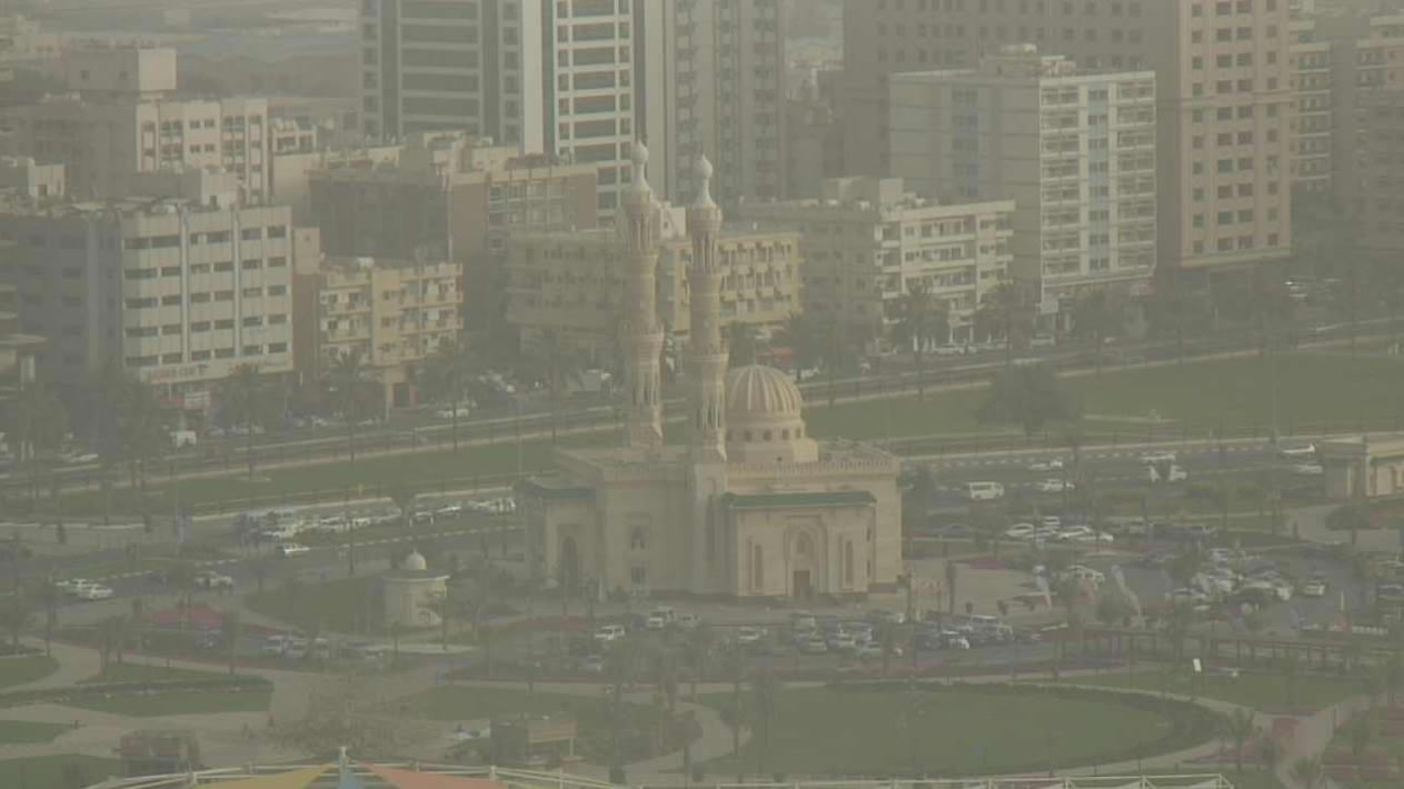 Overlooking the city of Sharjah  photo 1