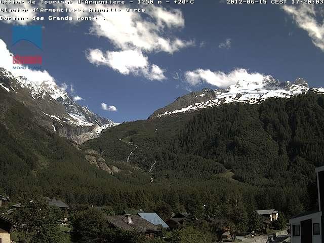 Aiguille Verte Glacier photo 2