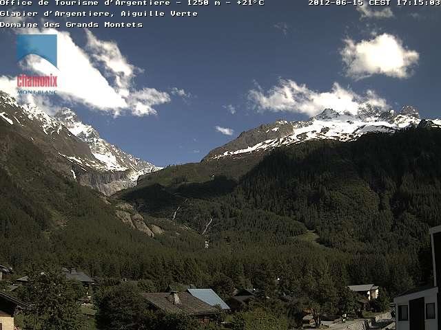 Aiguille Verte Glacier photo 1