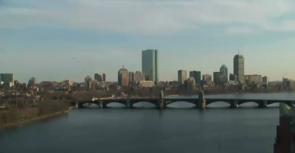 Boston City Skyline photo