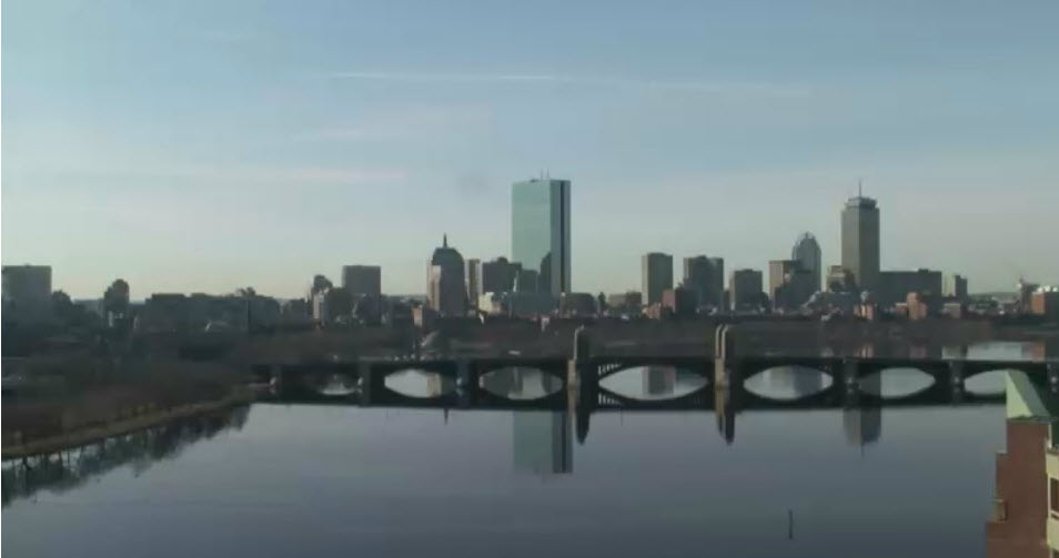 Boston City Skyline photo 3